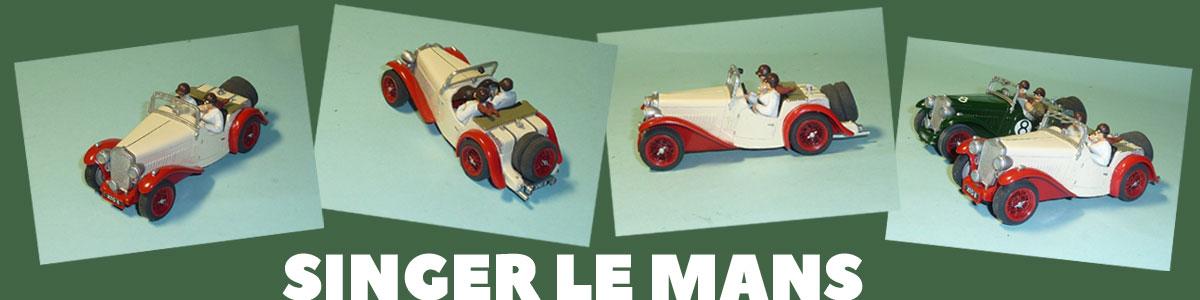 Singer Le Mans slot car from George Turner